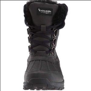 🎁New Koolaburra Neda by Ugg Black leather boot 10